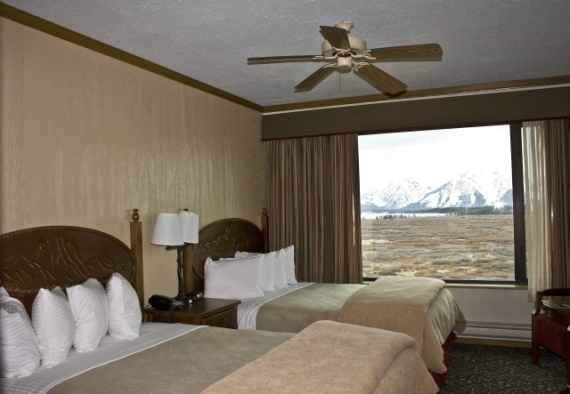 Guestroom at Jackson Lake Lodge