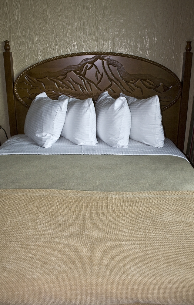 Redesigned Headboards at Jackson Lake Lodge