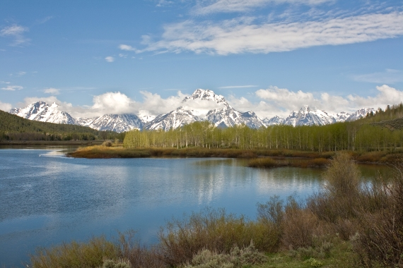 Teton Range from Oxbow Bend