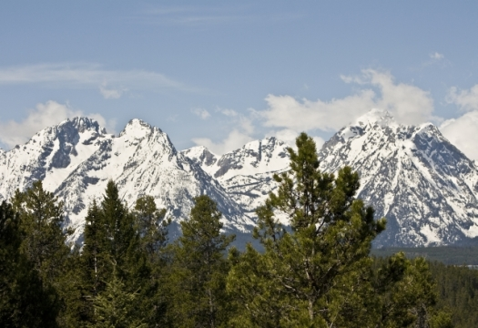 Overlook on the Tetons
