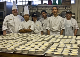 Pastry Chef John Clover and the Bakers