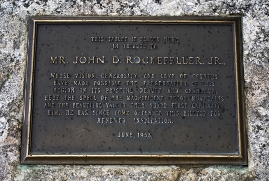 A Nod to John D. Rockefeller, Jr.