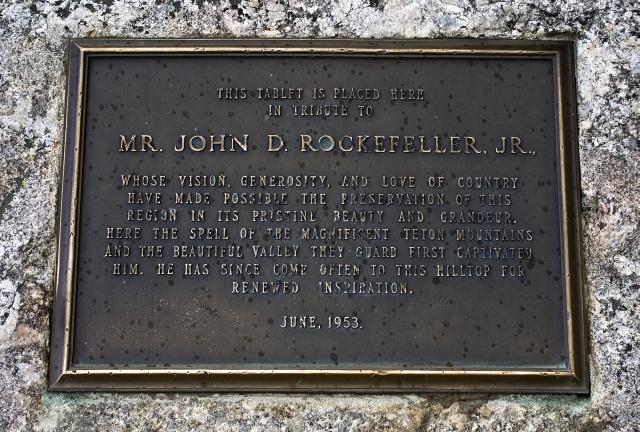 A Nod to John D. Rockefeller, Jr.