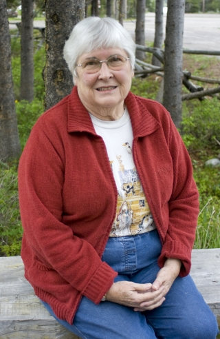 Historian Mary McKinney at Colter Bay Village